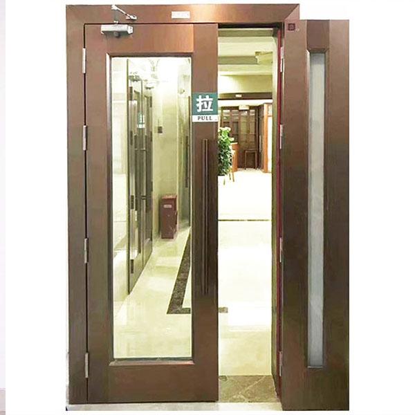 65型铝合金耐火门厂家直销甲级乙级钢质玻璃防火门不锈钢玻璃防火门