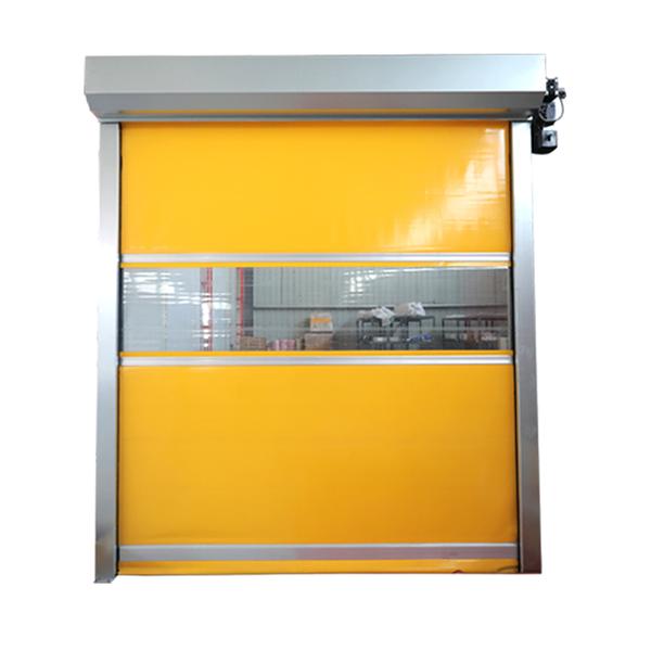 厂家直销pvc快速门卷帘门无尘车间自动升降感应提升门工业堆积门